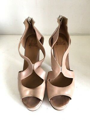 huge discount 305f2 bd246 SANDALI SCARPE SILVIA rossini usati shoes made in italy tg 38 beige