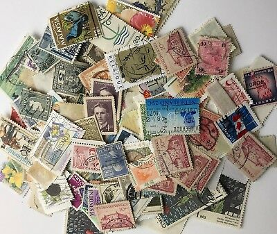 Job Lot of - Used - Off Paper - Mixed World - Postage Stamps - Inc Germany