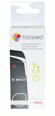 Tassimo Descaling Tablets with 4 Tablets for 2 Descaling Processes BSH311530