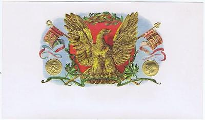 Eagle Klingenberg #12160 gold  medals  cigar label