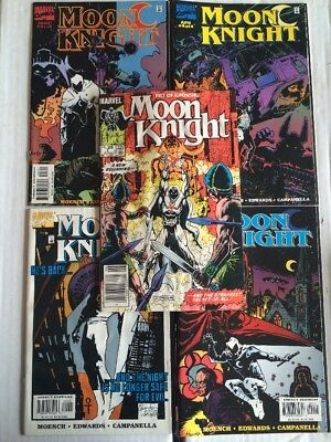 Moon Knight #1-4 (Jan - Apr 1998) He's Back... & Fist Of Khonshu #1