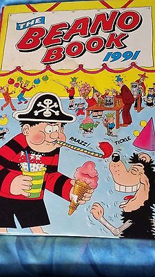 Beano  Book: 1991 The Beano Annual For 1991 In Good Condition