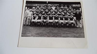 Heart Of Midlothian Fc Hearts Fc 1979-80 Rare Press Photo First Division Winners