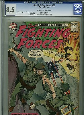 Our Fighting Forces #85 - February, 1964 - CGC 8.5