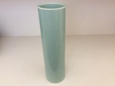"12""Tall, Nageire Ikebana Vase, Celadon Green Color in Very Good Condition"