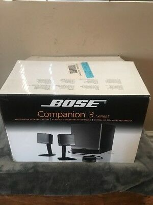 Bose Companion 3 series ii multimedia sound system- Great Condition