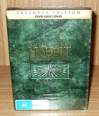 The Hobbit - The Desolation of Smaug (Extended Edition) Dvd 5-Disc New & Sealed