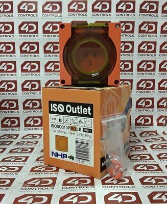 NHP ISOSO310PROLB Socket Outlet - New Surplus Open