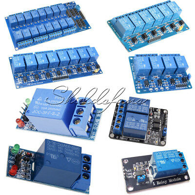 5V 1/2/4/6/8/16 Channel Relay Board Module Optocoupler LED for Arduino ARM AVR N