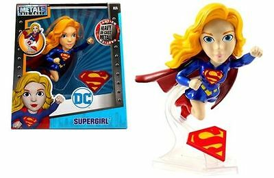 "Jada 6"" Metals Dc Girls Supergirl Flying Version Diecast Action Figure 97923-12"