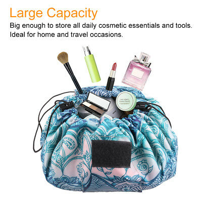 Cosmetic Bag Organizer Large Capacity Lazy Makeup Bag Case Toiletry Storage Bag
