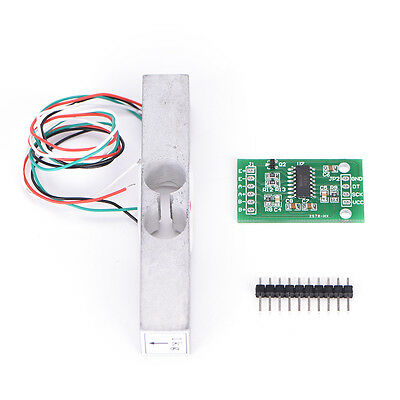 DIY Load Cell Weight Sensor 1KG Portable Scale+HX711 Weighing Sensor Ad Modu AS1