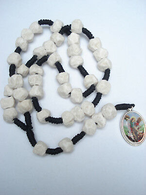 St.Michael the Archangel Rosary HAND MADE ston-rocks Virgin Mary