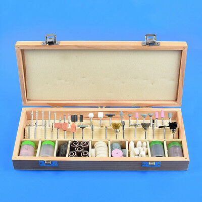 228 Piece Rotary Tool Accessories Kit Grinding Polishing Shank Craft Bits