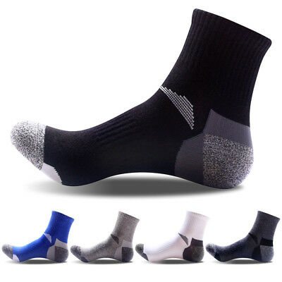 10 Pairs Mens Ankle Sock Low Cut Sports Running Cycling Crew Cotton Casual Socks