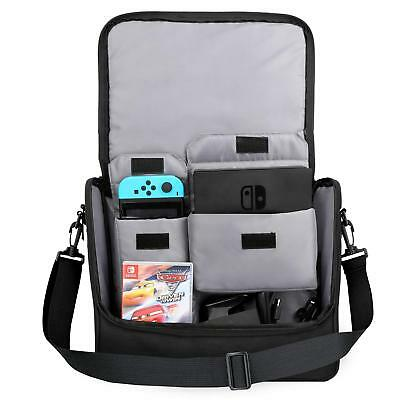 MoKo for Nintendo Switch Console Travel Carrying Shoulder Messenger Storage Bag