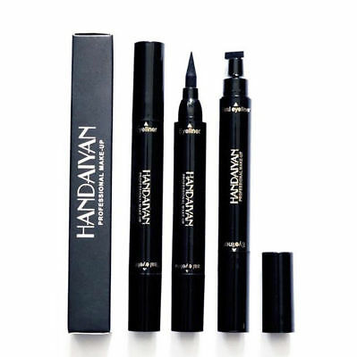 2 in 1 Vampire Stamp Liquid Waterproof Eyeliner Vamp Pen Seal Eye Liner