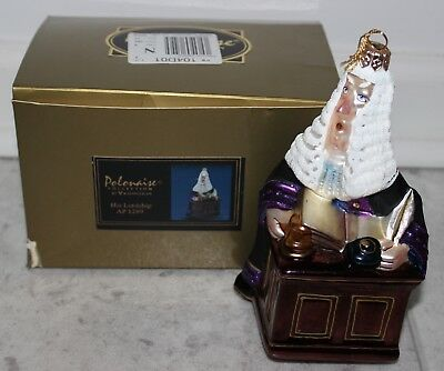 Polonaise Collection His Lordship Ap1289 Estate Ornament In Original Box--Nr!