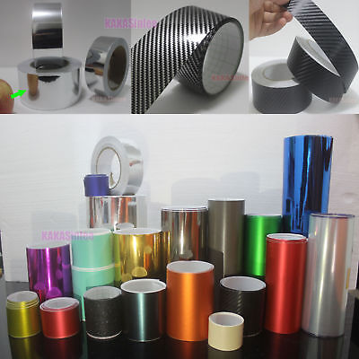 Beauty Tape Cool 3D 4D 5D Carbon Fiber Chrome Mirror Matte Vinyl Wrap Sticker AB