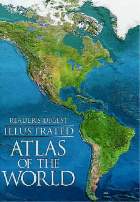 Illustrated Atlas of the World (World Atlas), Reader's Digest, Used; Good Book