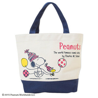 Japan Snoopy Peanuts Canvas Keep Warm Handbags Lunch Insulated Tote Bag  974643