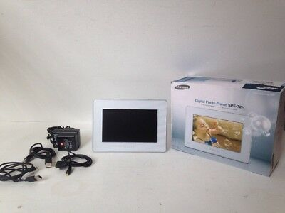 Samsung Spf 72h 7 Digital Photo Picture Frame 1898 Picclick Uk