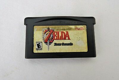 Zelda a Link to Past Four Swords - Nintendo Game Boy Advance GBA Rare Authentic