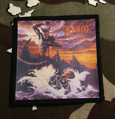 Dio Holy Diver Printed Patch D038P Black Sabbath Judas Priest Iron Maiden Ozzy