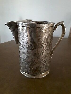 Grand Silver Co. Wear Brite Nickel Silver Pourer Pitcher