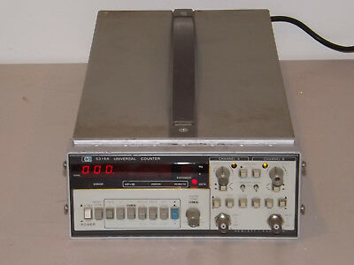 HP Agilent 5316A 100MHz Universal Counter Dual Input with HP-IB Interface