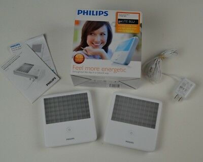 TWO BUNDLE Philips Hf3321 goLITE BLU - light therapy Fast Shipping!