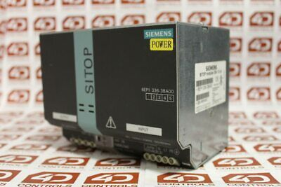 Siemens 6EP1 336-3BA00 SITOP Modular Plus 20 Stabilized Power Supply - Used