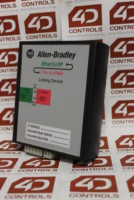 Allen-Bradley 1788-EN2DN EtherNet/IP to DeviceNet Linking Device - Series A -...