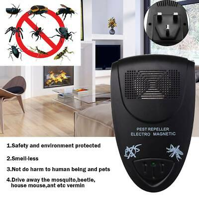 Ultrasonic Electronic Plug In Pest Control Repeller Rodent Mouse Mice Rat Spider