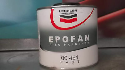 ENDURECEDOR DE EPOFAN FAST LECHLER 00 451 ( 00451 ) L0000451L0.5 500ml