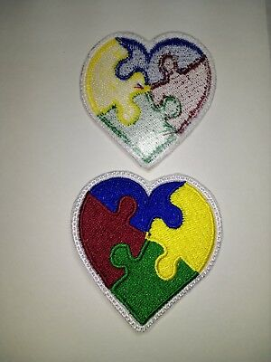 **LOVE IT OR ITS FREE* Autism Awareness Heart - Asperger's Syndrome - FREE SHIP