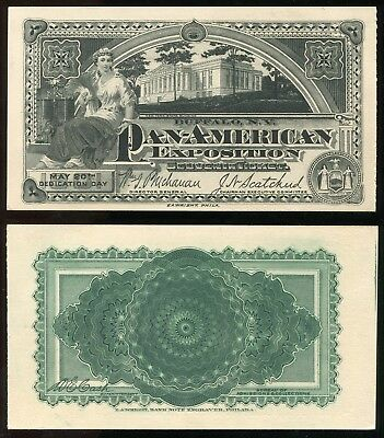 t11 - BUFFALO 1901 Pan American Exposition Ticket. DEDICATION DAY. XF Excellent