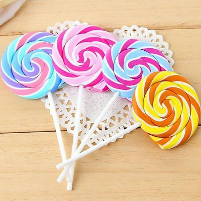 Cute Cartoon Lollipop Rubber Erasers for Kids Creative Lovely Stationery  ss