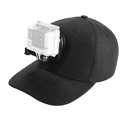 Baseball Hat Cap with Sports Action Camera Mounts for GoPro Hero 6 SJ4000