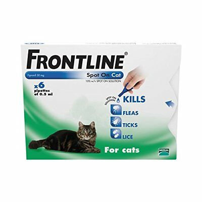 FRONTLINE SPOT ON CAT for Cats - Brand New - AVM-GSL - 1, 3 or 6 Pipettes
