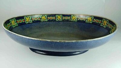 WILKINSON BLUE FLORAL FRUIT BOWL c. 1912+