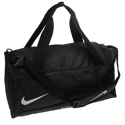 Nike Alpha Adapt Cross Body Bag Black White Shoulder Sports Gym Bag Holdall 3f3eb96a413e0