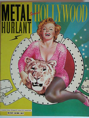 METAL HURLANT N°64 bis juin 81 SPECIAL HOLLYWOOD