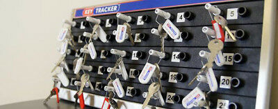 KeyTracker 25 key security storage tracking peg in peg out  tracker board system
