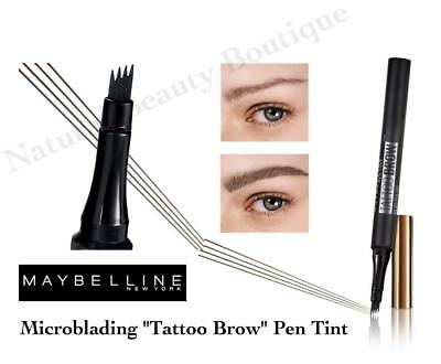 MAYBELLINE TATTOO BROW Microblading MICRO PEN TINT Makeup for PRECISION EYEBROW