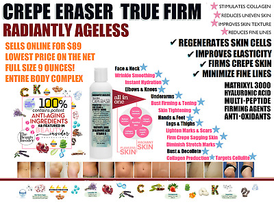 Crepe Eraser Intensive Full Body Repair Treatment *Radiantly Ageless* Face Neck