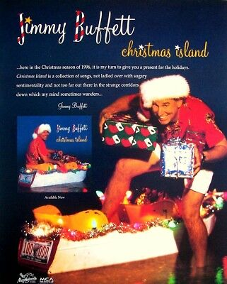 jimmy buffett 1996 promo advert christmas island