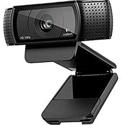 Logitech B910 HD Webcam with Carl Zeiss Lens C910 Free Recorded Delivery Inc Tr