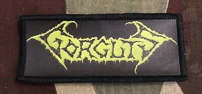 Gorguts Logo Printed Patch G023P Entombed Carnage Napalm Death