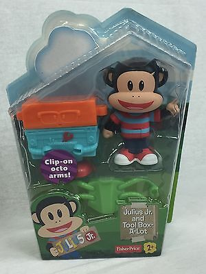 Fisher-Price Paul Frank Julius Jr. and Tool Box-A-Lot Figure w/ Accessories FRSH